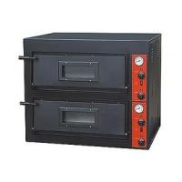 Buy cheap Black Painting Electric Pizza Baking Oven With 2 Layer 2 Tray 910x820x750mm from wholesalers