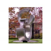 Buy cheap Brushed Finish Outdoor Water Fountains,Stainless Steel Water Feature from wholesalers