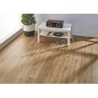 Buy cheap LVT PVC Commercial Vinyl Flooring 4mm Click Lock With UV Coating EIR Surface from wholesalers