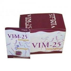 China VIM-25 permanent hard Herbal Male Enhancement Supplement Sex Pills wholesale