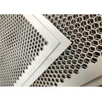 China Customized Perforated Metal Mesh , Perforated Corrugated Metal Round And Hexagonal Holes wholesale