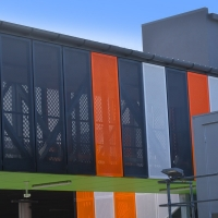 China Carved 2mm 5005H24 Aluminium Curtain Wall Systems on sale