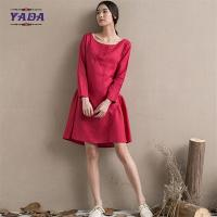 China Girls one piece pattern designs latest fashion ladies dresses casual dress in cheap price wholesale