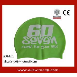 China Racing trathlon swim caps with bib number wholesale