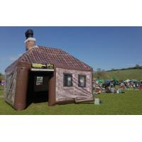 China Giant Durable Inflatable Yard Tent Two Door Inflatable Drinking Pub on sale