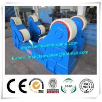 China Automated PU Roller Pipe Welding Rotator / 5 Ton Welding Turning Rolls wholesale