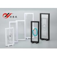 China Transparent Floating Display Frame Color Customized ABS / PET Material For Display wholesale