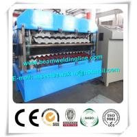 China CE Approvals Double Layer Roll Forming Machine for Metal Deck And Steel Tile wholesale