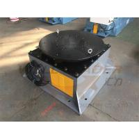 Buy cheap Servo Welding Positioner Turntable 360 Degree Unlimited Rotation Long Life from wholesalers
