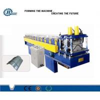 China 0.3 - 0.7mm Tile Roof Ridge Cap Roll Forming Machine , Roofing Sheet Making Machine wholesale