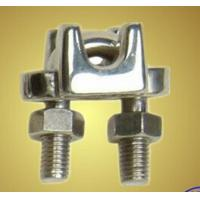 China Drop Forged Metal Steel Wire Rope Clamp for Lifting Galvanized Surface wholesale