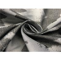China Rich Color Graphic Print Fabric For Jacket , 100 Polyester Fabric Jacquard Style wholesale