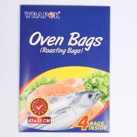 China House Hold Use Clear Oven Plastic Bags , Microwave Cooking Bags For Meat wholesale