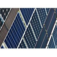 China Lightweight B Grade Solar Panels Aesthetic Appearance With MC4 Connector wholesale