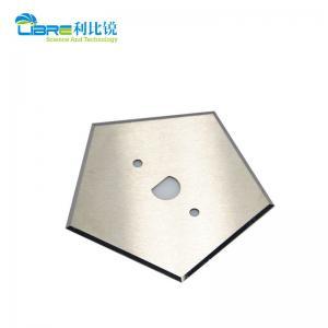China Tungsten Carbide 0.53mm Pentagon Industrial Slitter Blades wholesale