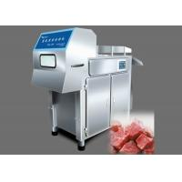 Buy cheap 4000kg / H Frozen Meat Cutting Machine , Stainless Steel Meat Canning Machine from wholesalers