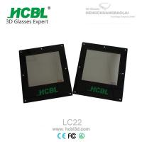 China 10*10Cm 3D TV Polarized Glass Lens for Dual - view Integral Imaging 3D Display on sale