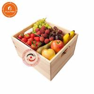 China Specially customized luxury wooden fruit box fruit gift box free design wholesale