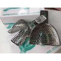 China Autoclavable Dental Impression Trays Premium Quality Perforated Size #6 wholesale