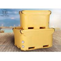 China Industrial Ice Cooler Roto Molded Cooler Box Insulted For Fish Storage Over 300quart wholesale