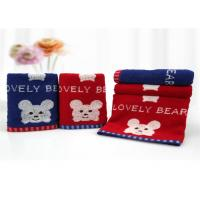 China Pure Cotton Applique Baby Face Towel No Chemical Additive Ingredients wholesale
