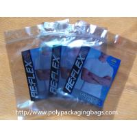 China Static Shielding BOPP / PET / CPP Clear Resealable Poly Bags Customized on sale