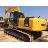 China Japan Original Komatsu crawler excavator 22 tonnage bucket 1m3 with water coolant Komatsu engine wholesale