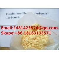 China 99% Purity Trenbolone Hexahydrobenzyl Carbonate Powder CAS 23454-33-3 For Muscle Growth wholesale
