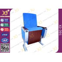 China Pure Aluminum Alloy Structure Cinema Theater Chairs With Big Folding Dining Table wholesale