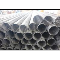 China Durable Perforated Stainless Steel Cylinder , Chemical Industry Perforated Metal Pipe on sale
