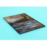 China 210mm x 297mm Perfect Bound Book Printing Size Bind By Automatic Binder With Book Mark wholesale