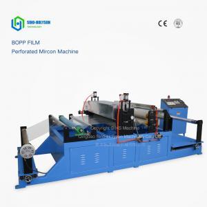 China Sinohs CE ISO Plastic Bopp Film Perforation Machine, Holiday Promotion! wholesale