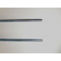 Buy cheap 3/8-16 Zinc Plated Carbon Steel 2M ASME Threaded Rod from wholesalers