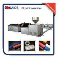 China PE Single wall corrugated pipe extruder machine supplier China on sale