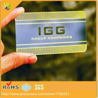 China China factory directly supply cheap custom laser cut metal business card wholesale