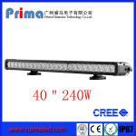 "China 40"" 240W Cree Led Light Bar! Single Row Light Bar for Jeep SUV 4X4 wholesale"
