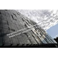 China Double Glass Wall Ventilated Façade Office Building with Double Skin Glazed Curtain Wall wholesale