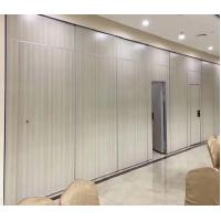 China Folding Sound Proof Acoustic Room Divider Partition Wall With Sliding Door wholesale