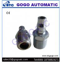 China Pneumatic Couplings Fittings , Zinc Alloy 1/2 Inch Pipe Quick Connect Fittings wholesale