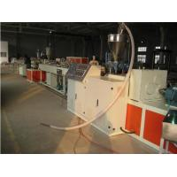 China PP / PE / PVC Plastic Pipe Extrusion Line , Twin Pipe Double Screw Extruder on sale