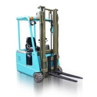 Buy cheap Portable LP Gas Engine Three Wheel Electric Forklift Counterbalance Lift Truck from wholesalers