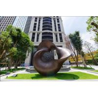 China Abstract Metal Copper Sculpture Outdoor For Modern Public Decoration wholesale
