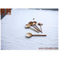 China carved apricot wooden spoon Wood spoon Handcarved utensils chinese spoon for cooking Gift for chef on sale