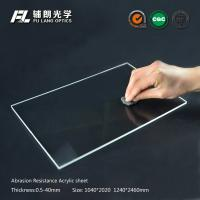 China Robot partitions with abrasion resistant acrylic sheet for aluminum extrusion wholesale
