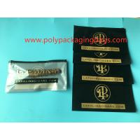 China Customized Printed 4 - 6 Cigars Wrap Bags , Mylar Packaging Bags With Zipper wholesale