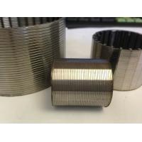 Johnson wedge wire strainer screen pipe filter for water treatment in well drilling