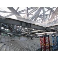 China GYM Center Building Steel Frame I Section Square/ Round Pipe Environment Friendly wholesale