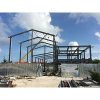 China H beam Q235B Steel Building Steel Frame Fabrication For Gymnasium wholesale