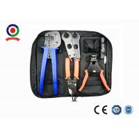China Black Bag MC4 Crimping Tool Kit Solar Photoroltaic Connector For Solar System wholesale