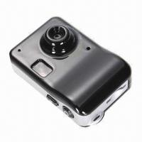 China Super High-resolution Mini Digital Camera in 8.0-megapixel with Motion Detection wholesale